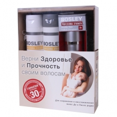 Набор для мам Bosley (шампунь, кондиционер, биостимулятор)