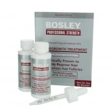 Усилитель роста волос 5 % Bosley (для мужчин) 2*60ml