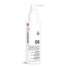 Уход успокаивающий несмываемый для кожи головы и поврежденных волос AntidotPro Treatment 04